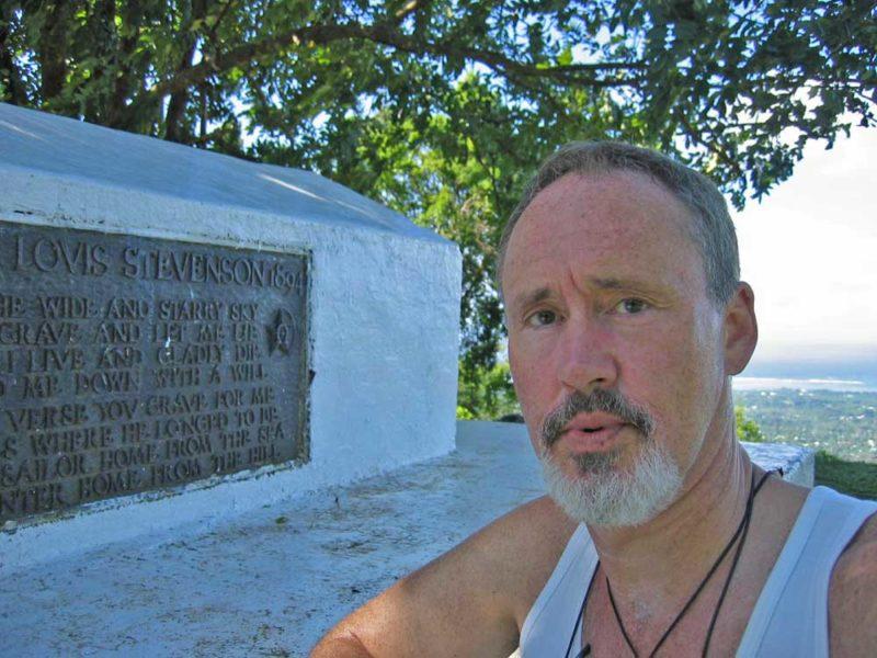 Nigel in Samoa