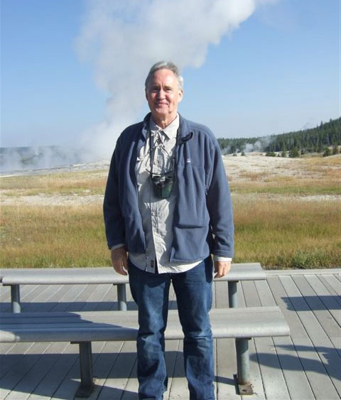 Nigel at Yellowstone