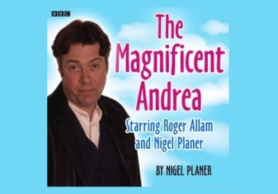 """The Magnificent Andrea"" Cover"